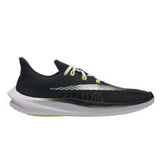 Nike Future Speed Kids Running Shoes Black / White US 1, Black / White, rebel_hi-res