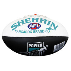 Sherrin AFL Port Adelaide Power Softie Ball, , rebel_hi-res