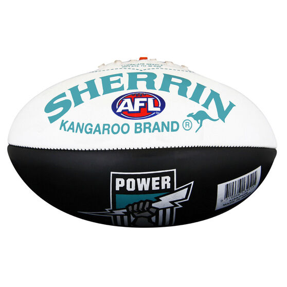 Sherrin AFL Port Adelaide Power Softie Ball, , rebel_hi-res