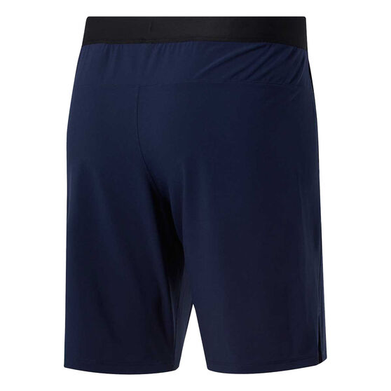 Reebok Mens Speedwick Speed Training Shorts, Blue, rebel_hi-res