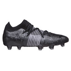 Puma Future Z 1.1 Football Boots Black US Mens 7 / Womens 8.5, Black, rebel_hi-res