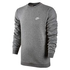Nike Mens Sportswear Crewneck Grey S, Grey, rebel_hi-res