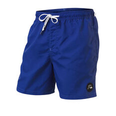 Quiksilver Mens Vibes Volley 17in Boardshorts Blue S, Blue, rebel_hi-res