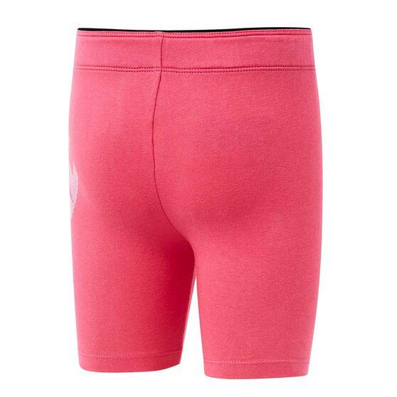 Nike Girls Block Bike Shorts, Pink, rebel_hi-res