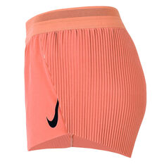 Nike Womens AeroSwift Running Shorts Orange XS, Orange, rebel_hi-res