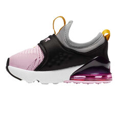 Nike Air Max 270 Extreme Toddler Shoes Black/Pink US 4, Black/Pink, rebel_hi-res