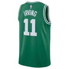 Nike Boston Celtics Kyrie Irving 2019 Mens Swingman Jersey Clover S, Clover, rebel_hi-res