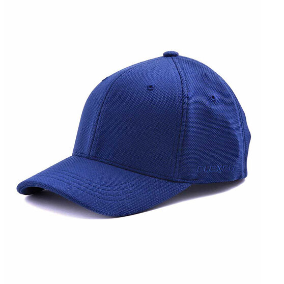 Flexifit Cool Dry Mesh Fitted Cap, Navy, rebel_hi-res