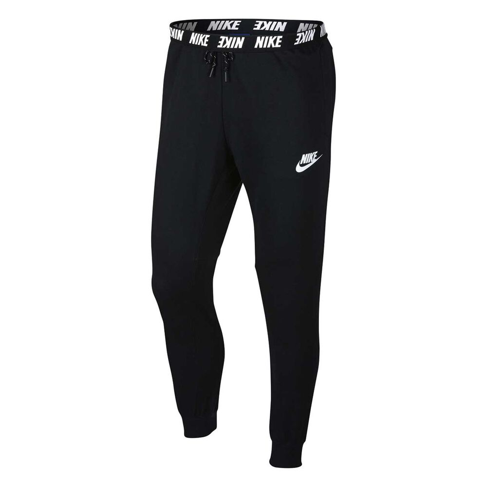 679b363157d8 Nike Mens Sportswear Advance 15 Jogger Pants Black   White S Adult ...