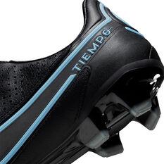 Nike Tiempo Legend 9 Pro Football Boots, Black/Grey, rebel_hi-res