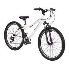 Flight Girls Traverse JR130 24in Mountain Bike White 60cm, , rebel_hi-res