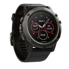 Garmin Fenix 5X Sapphire GPS Heart Rate Watch Slate Grey / Black, , rebel_hi-res