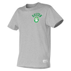 Boston Celtics Mens Retro Repeat Tee Black S, , rebel_hi-res