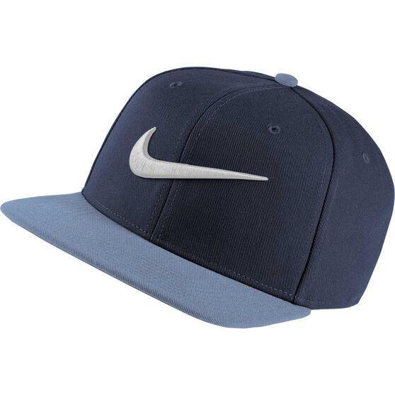 Nike Swoosh Pro Navy OSFA Hat Navy, Navy, rebel_hi-res