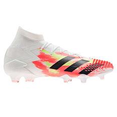 adidas Predator 20.1 Football Boots White US Mens 5 / Womens 6, White, rebel_hi-res