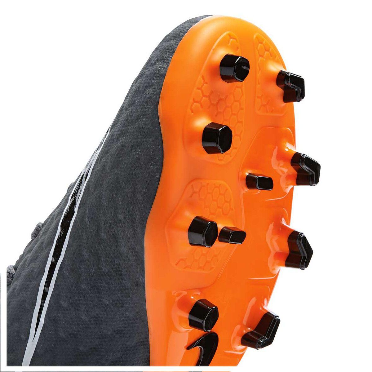 0e1104a6189 ... france nike hypervenom phantom iii academy junior football boots grey  orange us 12 junior grey fd421 ...