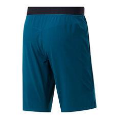 Reebok Mens CrossFit Epic Base Shorts Teal XS, Teal, rebel_hi-res