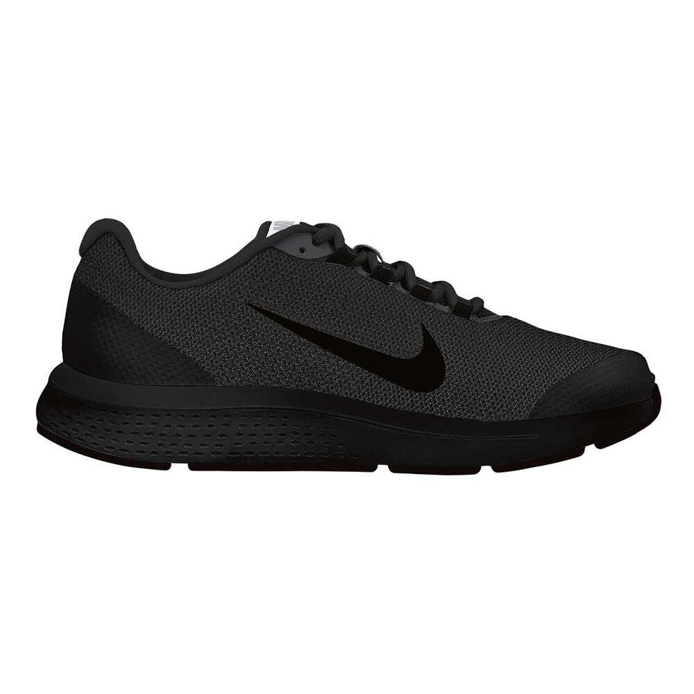 272abcc03ec4a Nike Run All Day Womens Running Shoes Black   Black US 8