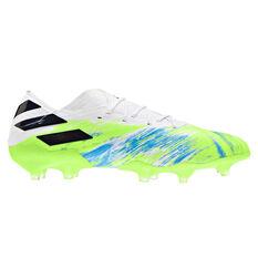 adidas Nemeziz 19.1 Football Boots White US Mens 7 / Womens 8, White, rebel_hi-res