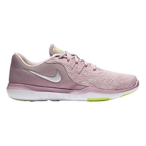 Nike Flex Supreme TR 6 Womens Training Shoes, Pink / White, rebel_hi-res