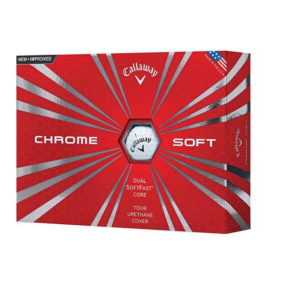 Callaway Chrome Soft 12 Pack Golf Balls, , rebel_hi-res