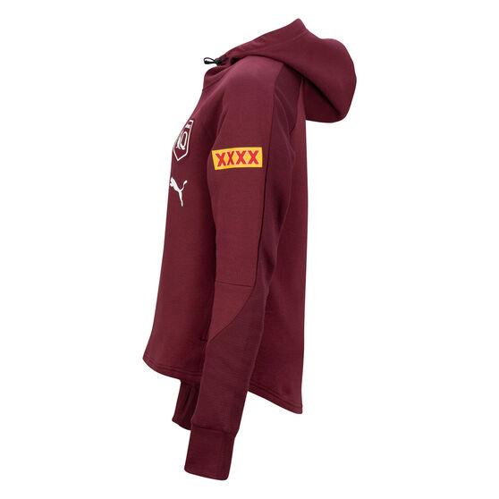 QLD Maroons State of Origin 2021 Womens Team Hoodie, , rebel_hi-res