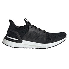 adidas Ultraboost 19 Mens Running Shoes Black / White US 7, Black / White, rebel_hi-res