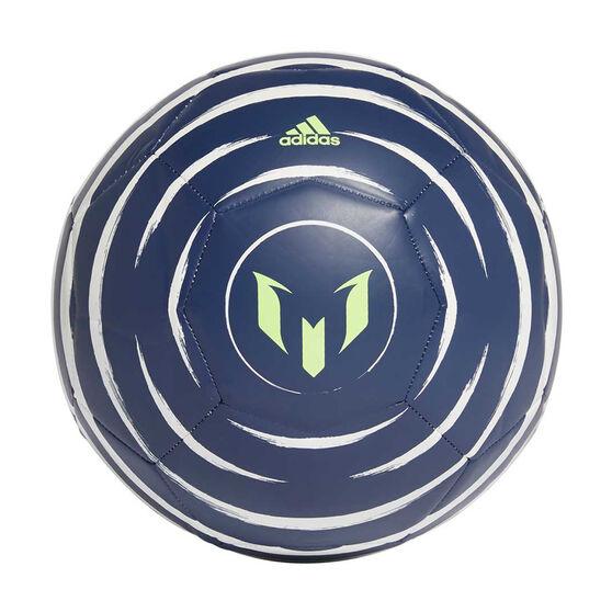 adidas Messi Club Soccer Ball, Purple / White, rebel_hi-res