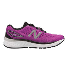 New Balance 880 Kids Training Shoes Purple US 4, Purple, rebel_hi-res
