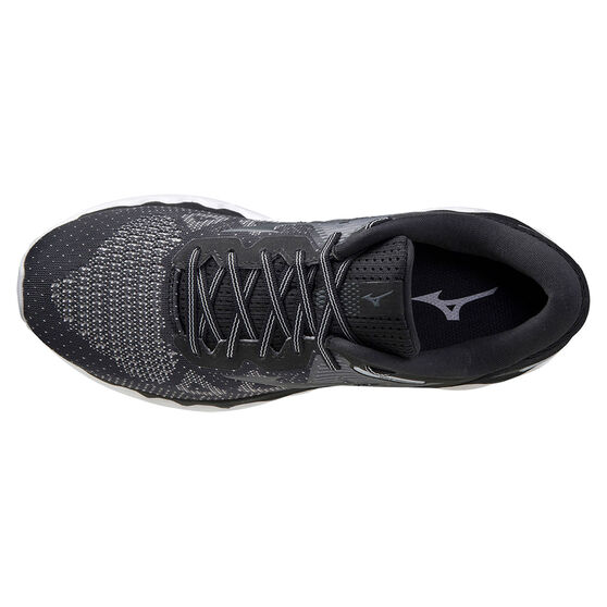 Mizuno Wave Horizon 5 Mens Running Shoes, Black/Grey, rebel_hi-res