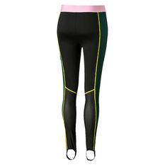 Puma Womens Trailblazer High waisted Tights Black / Pink XS, Black / Pink, rebel_hi-res