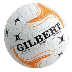 Gilbert State M500 Netball White 4, White, rebel_hi-res