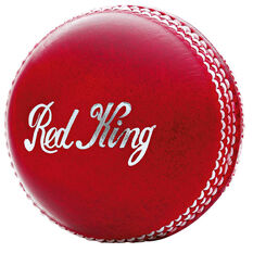 Kookaburra Red King 156g Cricket Ball Red, Red, rebel_hi-res
