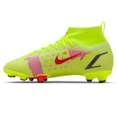 Nike Mercurial Superfly 8 Pro Kids Football Boots Yellow/Black US 1, Yellow/Black, rebel_hi-res