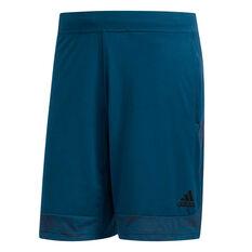 Nike Mens 4KRFT Tech Burnout Shorts Blue XS, Blue, rebel_hi-res