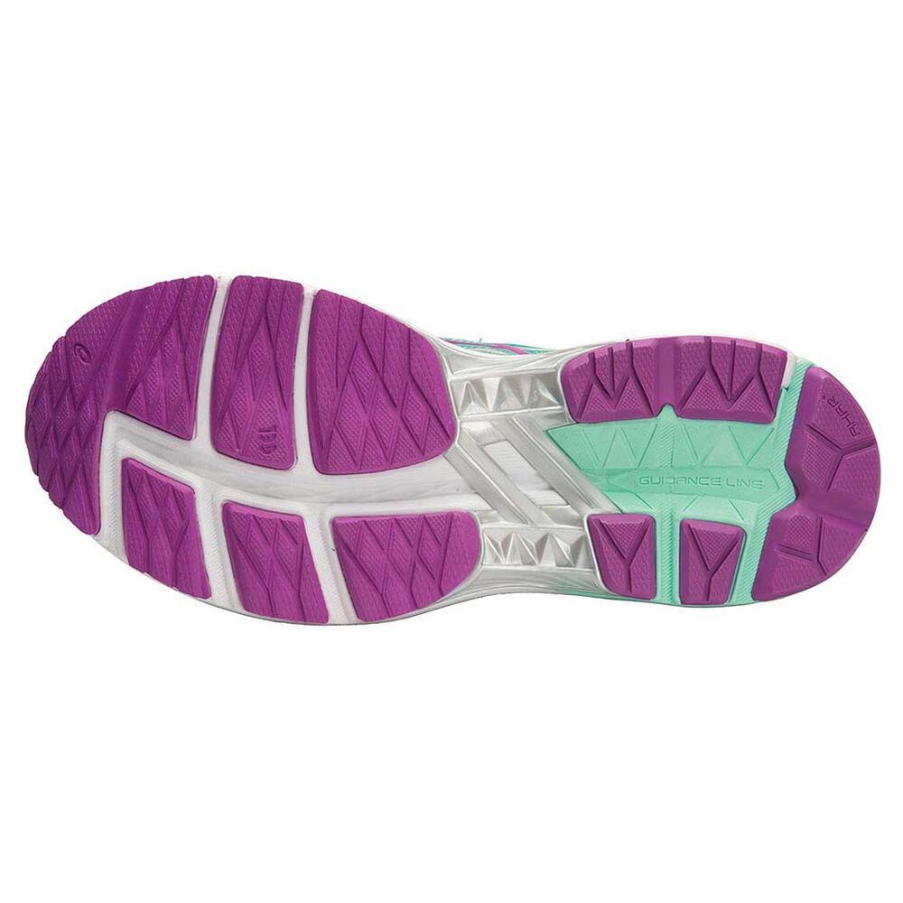 5c23079f Asics GT 1000 5 (D) Womens Running Shoes Green / Purple US 6 ...