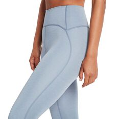 Nimble Womens Dynamic 3/4 Leggings, Blue, rebel_hi-res