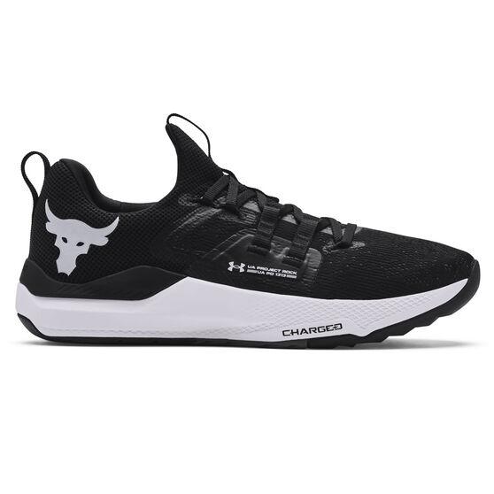 Under Armour Project Rock BSR Mens Training Shoes, Black, rebel_hi-res