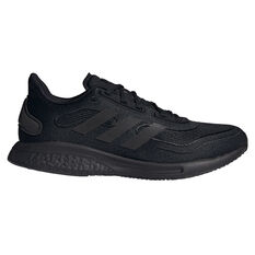 adidas Supernova+ Mens Running Shoes, Black, rebel_hi-res