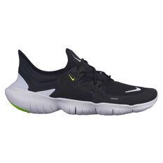 Nike Free RN 5.0 Womens Running Shoes Black / White US 6, Black / White, rebel_hi-res