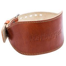 Harbinger 6 Inch Oiled Leather Belt, Neutral, rebel_hi-res