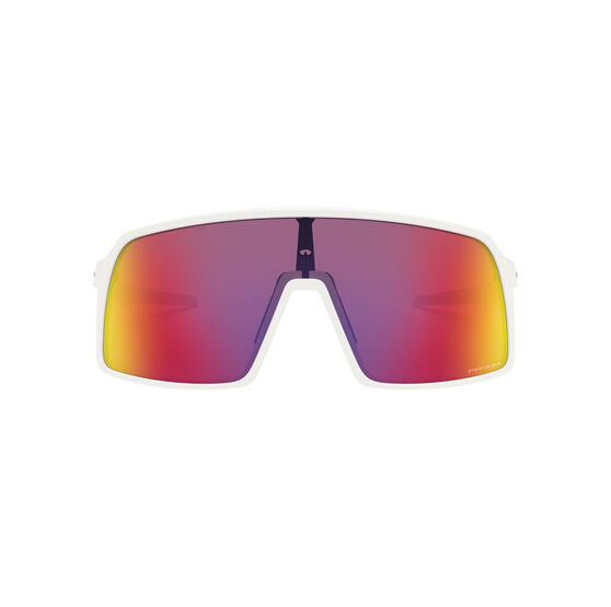 OAKLEY Sutro Sunglasses - Matte White with PRIZM Road, , rebel_hi-res
