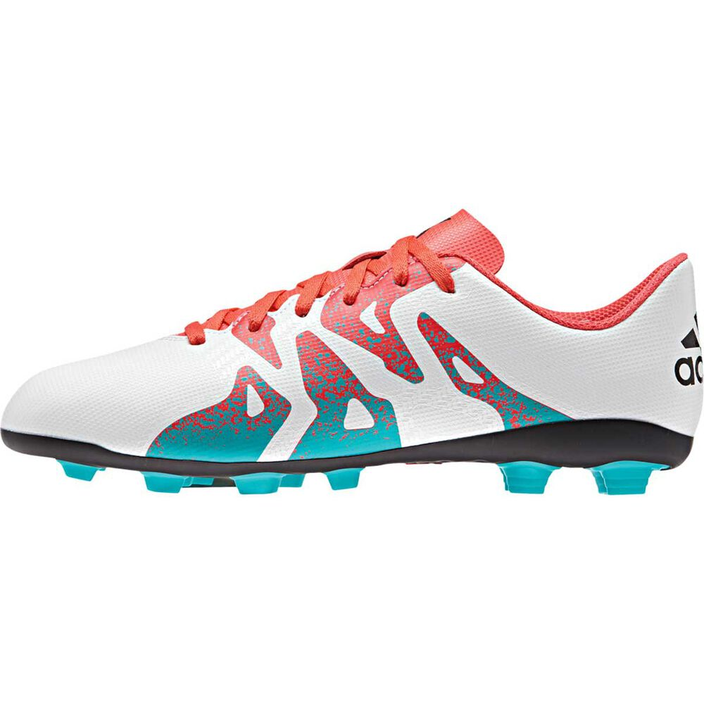 c4feb06cd8a2 adidas X15.4 Womens Football Boots White   Green US 10 Adult