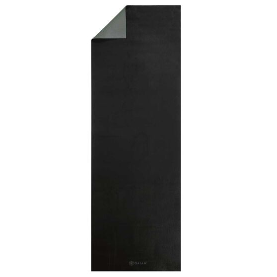 Gaiam Athletic Yoga Mat Grey / Black 5mm, , rebel_hi-res
