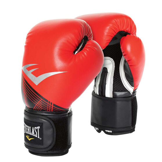 Everlast Pro Style Advanced Training Boxing Gloves, Red / Black, rebel_hi-res