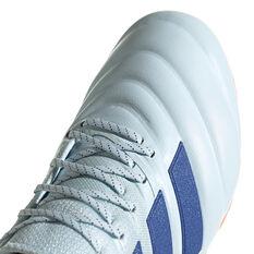 adidas Copa 20.1 Football Boots White/Blue US Mens 7.5 / Womens 8.5, White/Blue, rebel_hi-res