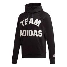 adidas Mens VRCT Pullover Hoodie Black S, Black, rebel_hi-res