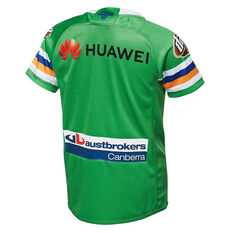 5dd2f355618 ... Canberra Raiders 2019 Kids Home Jersey Green 8