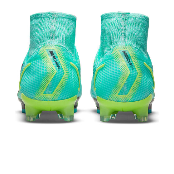 Nike Mercurial Superfly 8 Elite Football Boots, Blue/Lime, rebel_hi-res