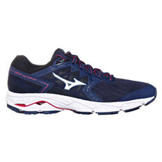 Mizuno Wave Ultima 10 Womens Running Shoes Blue / White US 6, Blue / White, rebel_hi-res